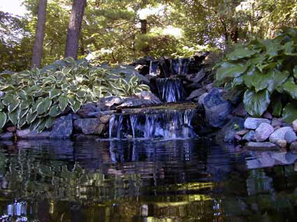 Water Falls, Drain Tile, French Drain, Sump Pump, Water Gardens